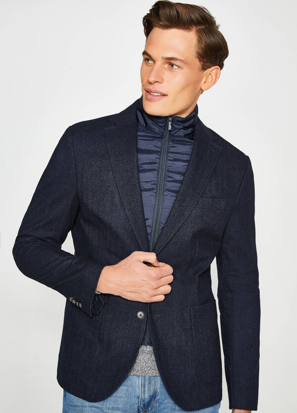 Casual jacket in 100% cotton with single button | OVS