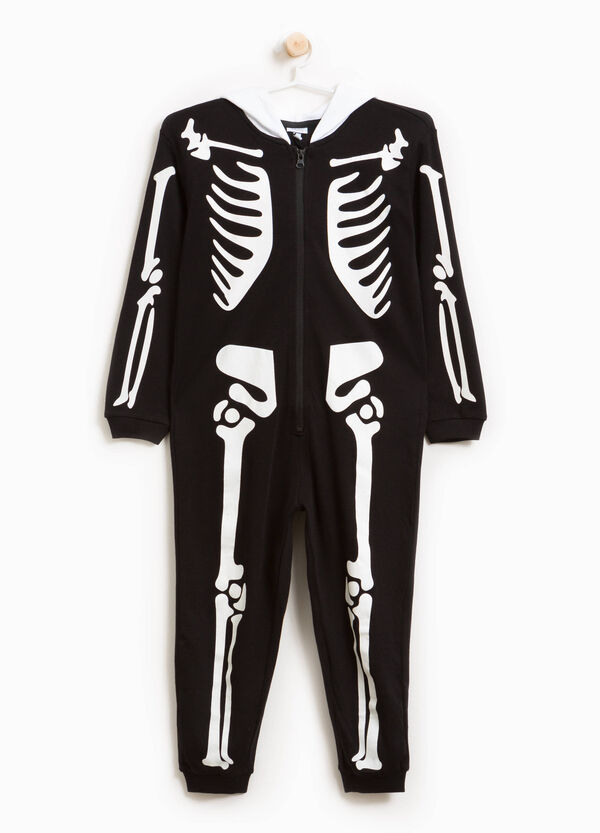 Skeleton print sleepsuit | OVS