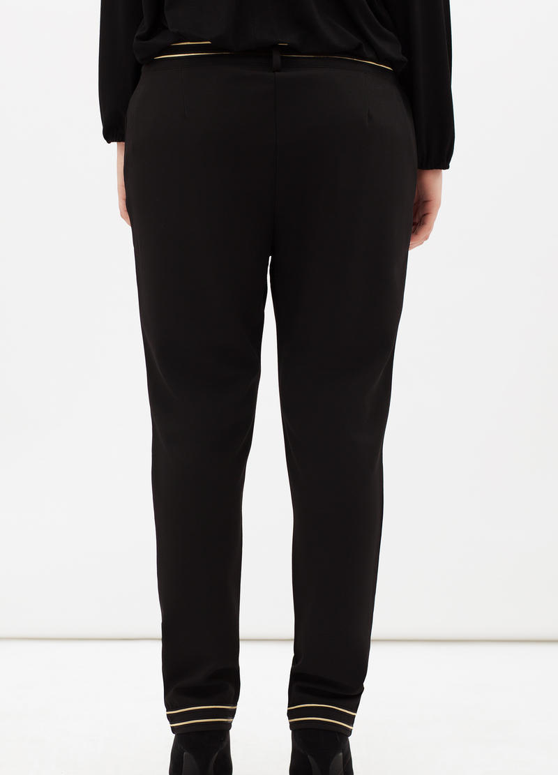 Curvyglam stretch trousers image number null