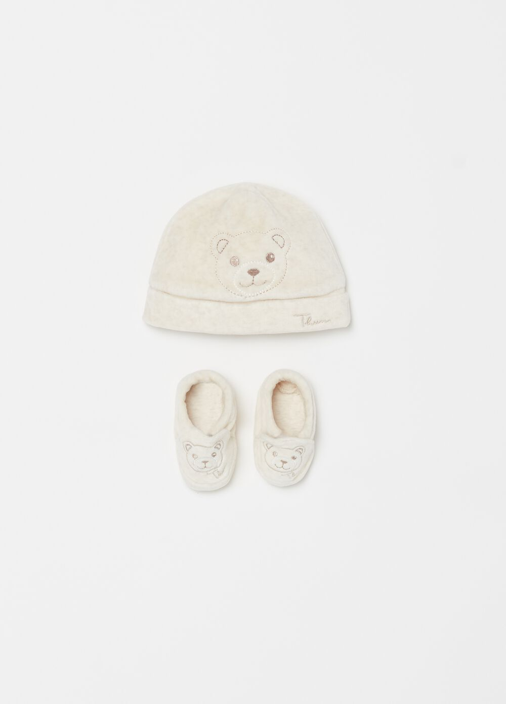 THUN Teddy hat and shoes set