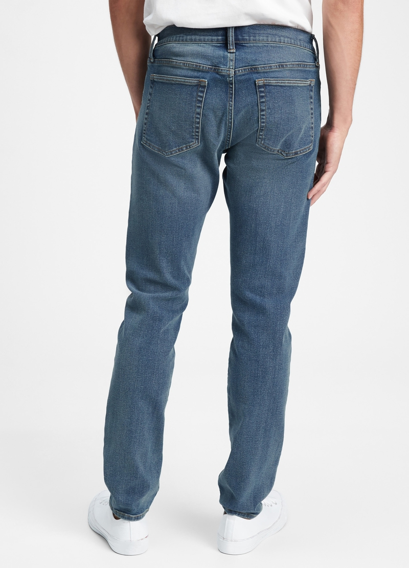 GAP Jeans slim fit con scoloriture image number null