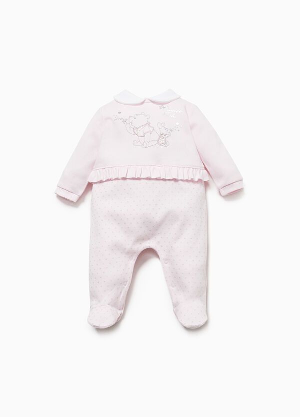 Onesie with Winnie the Pooh embroidery