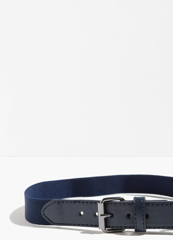 Belt with one loop and square buckle | OVS