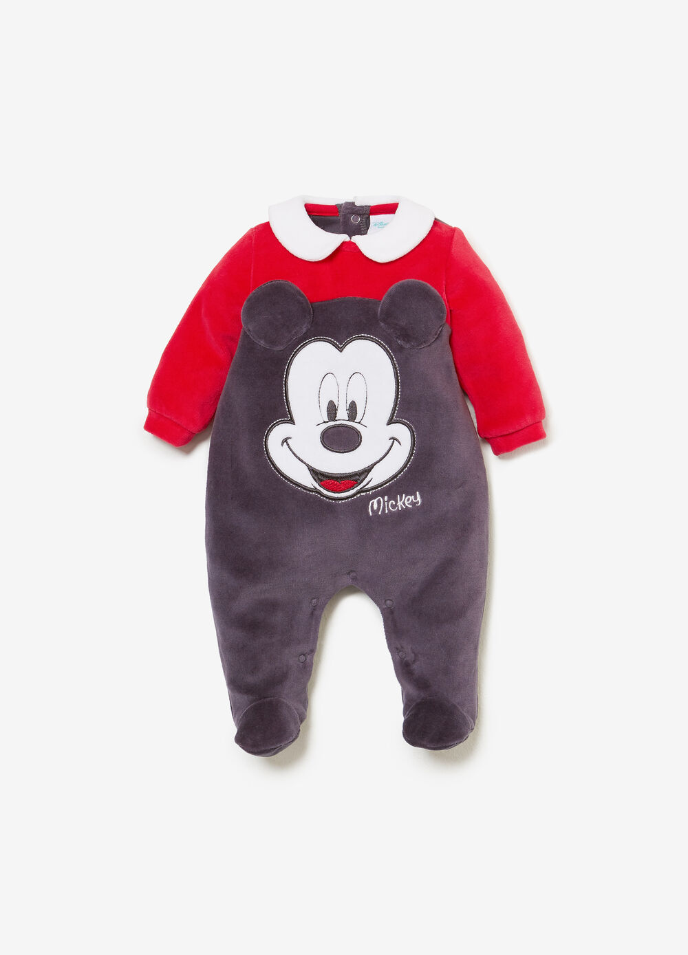 Mickey Mouse sleepsuit with collar