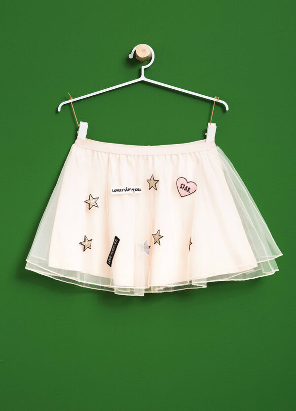 Tulle skirt with patch | OVS