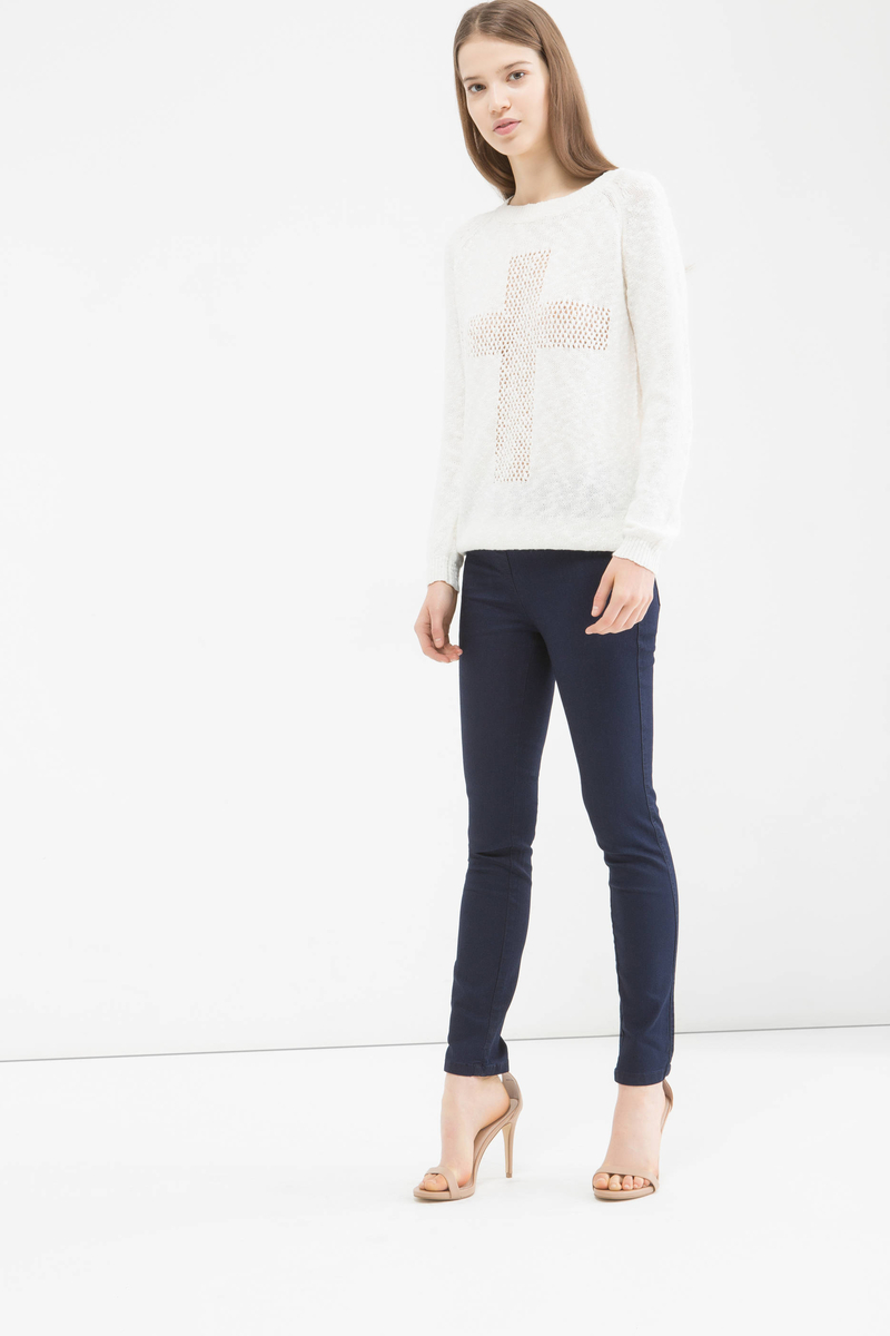 Jeggings in misto cotone stretch image number null