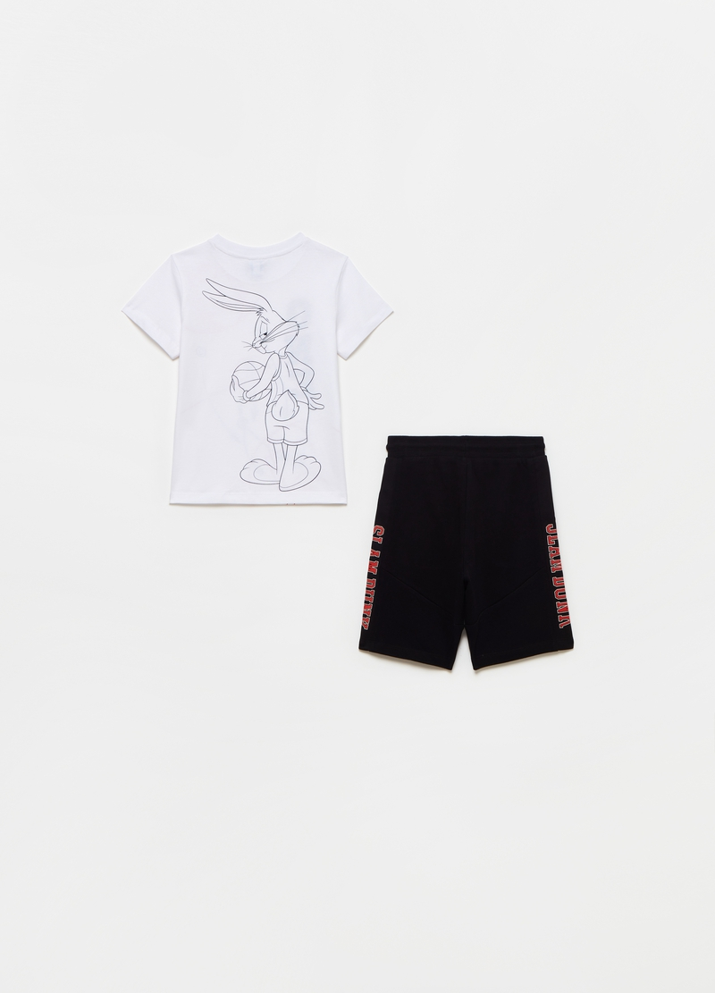 Jogging set with Space Jam print image number null