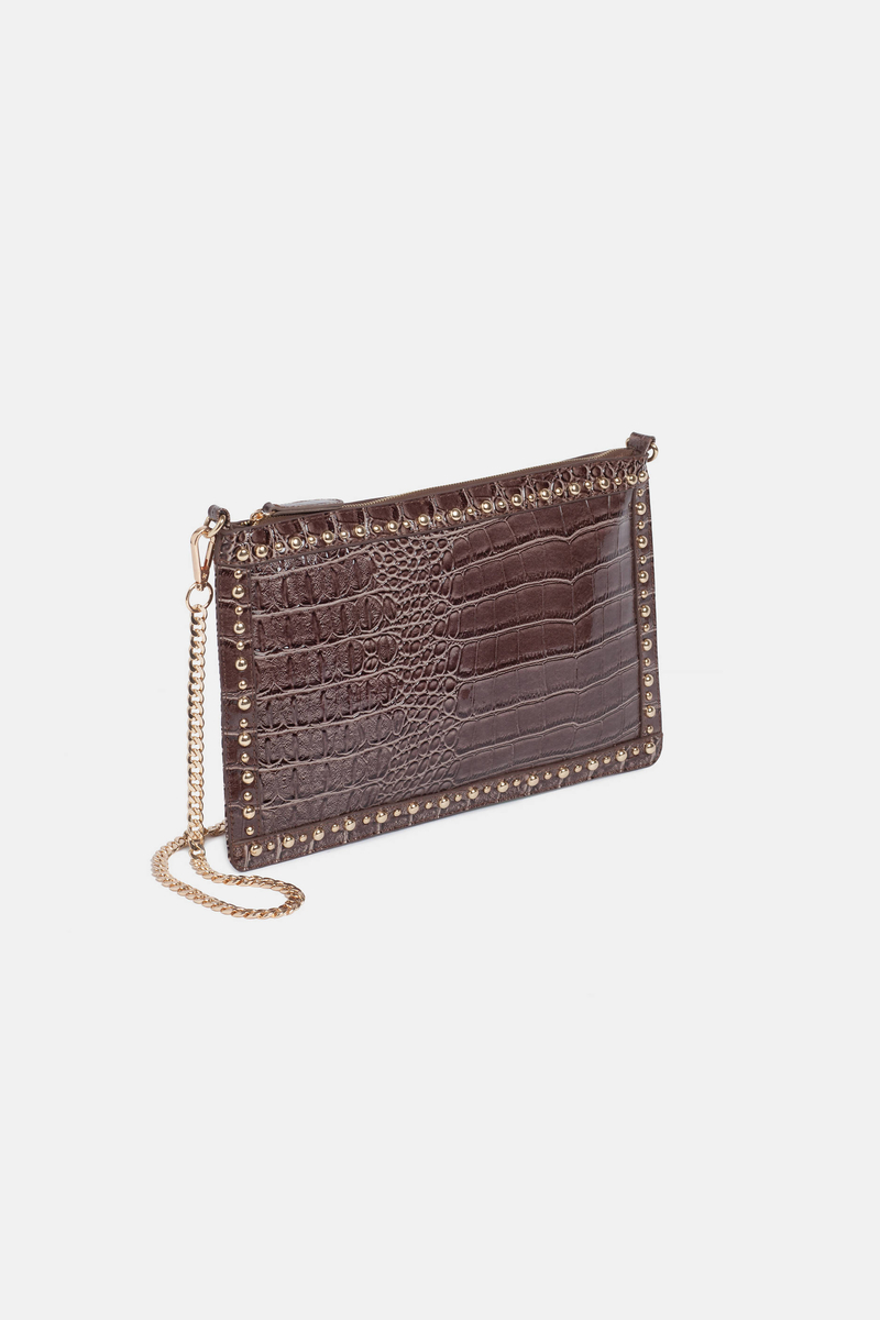 Clutch bag with chain image number null