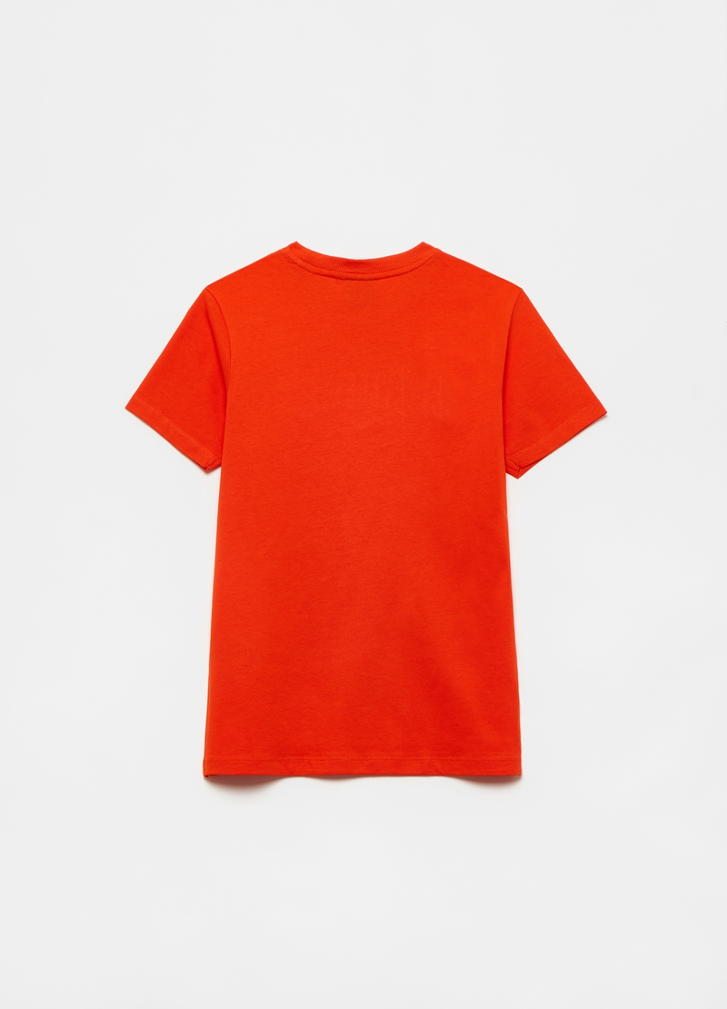 Cotton T-shirt with Everlast embroidery image number null