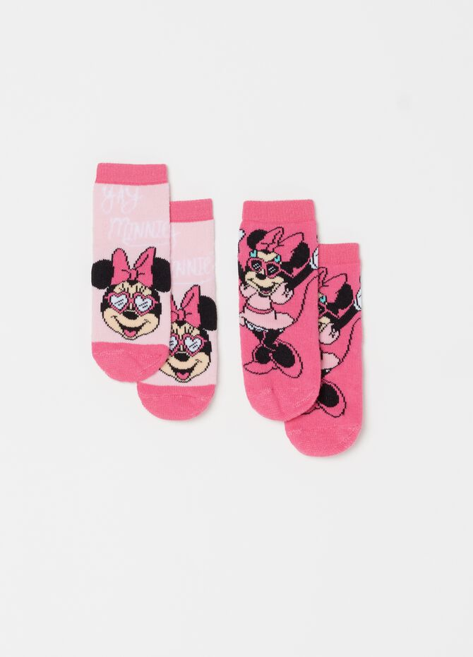 Set due paia di calze Disney Minnie