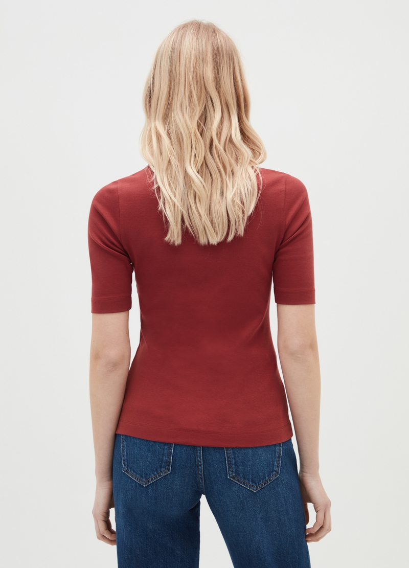 T-shirt in cotone Supima stretch image number null