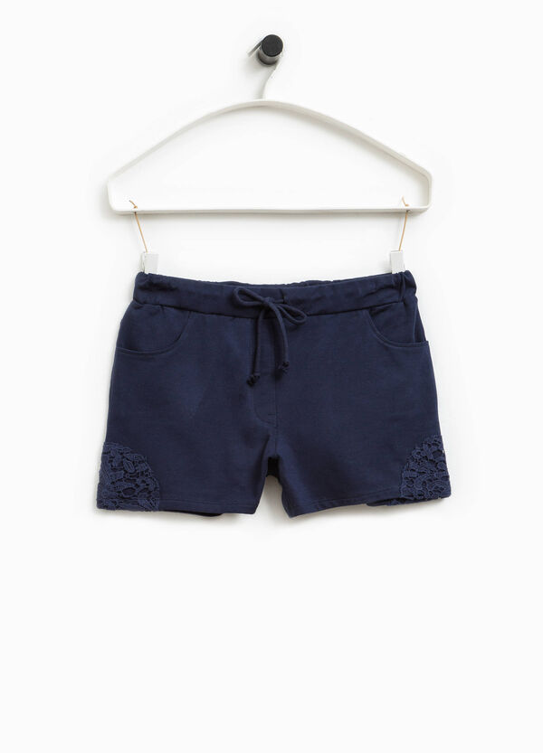 Shorts stretch con pizzo Smart Basic | OVS
