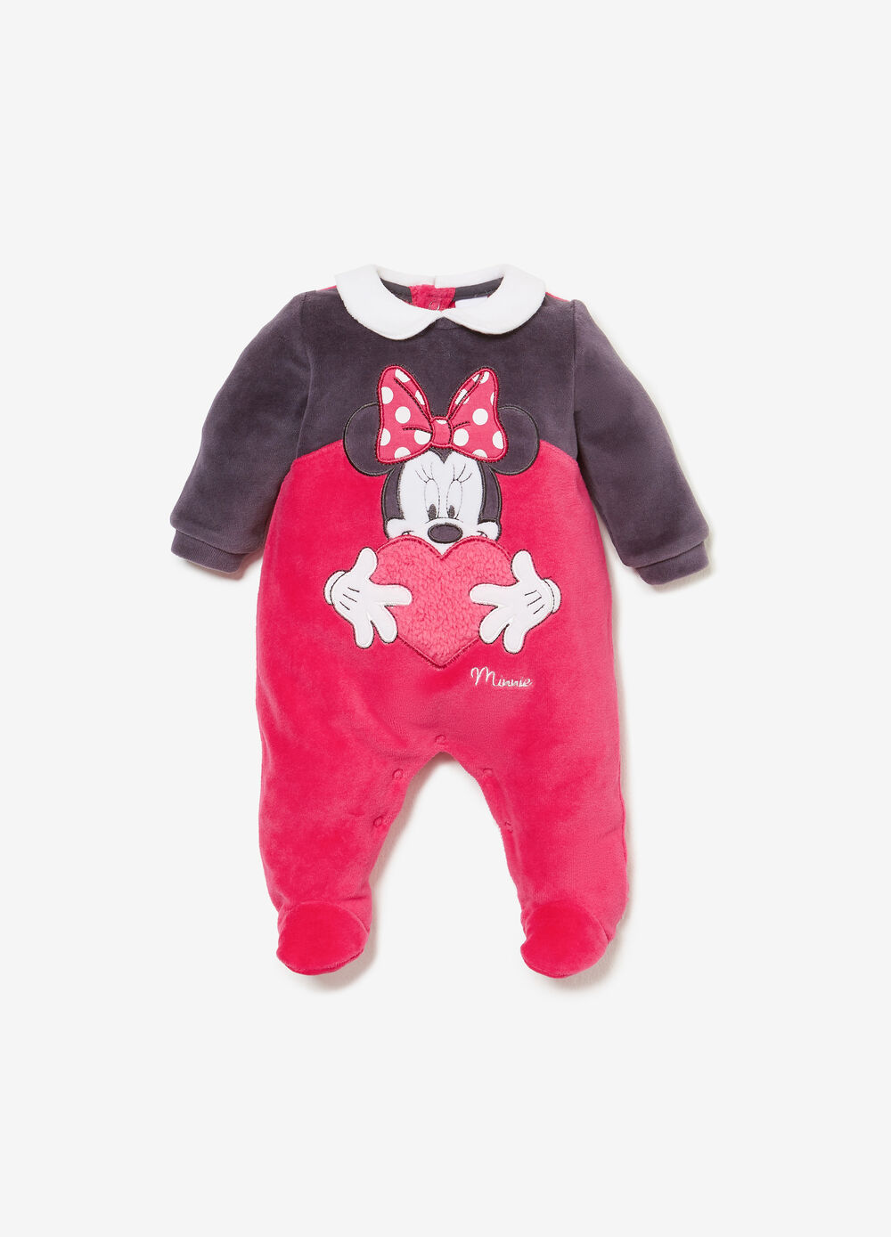 BCI sleepsuit with Minnie Mouse patch