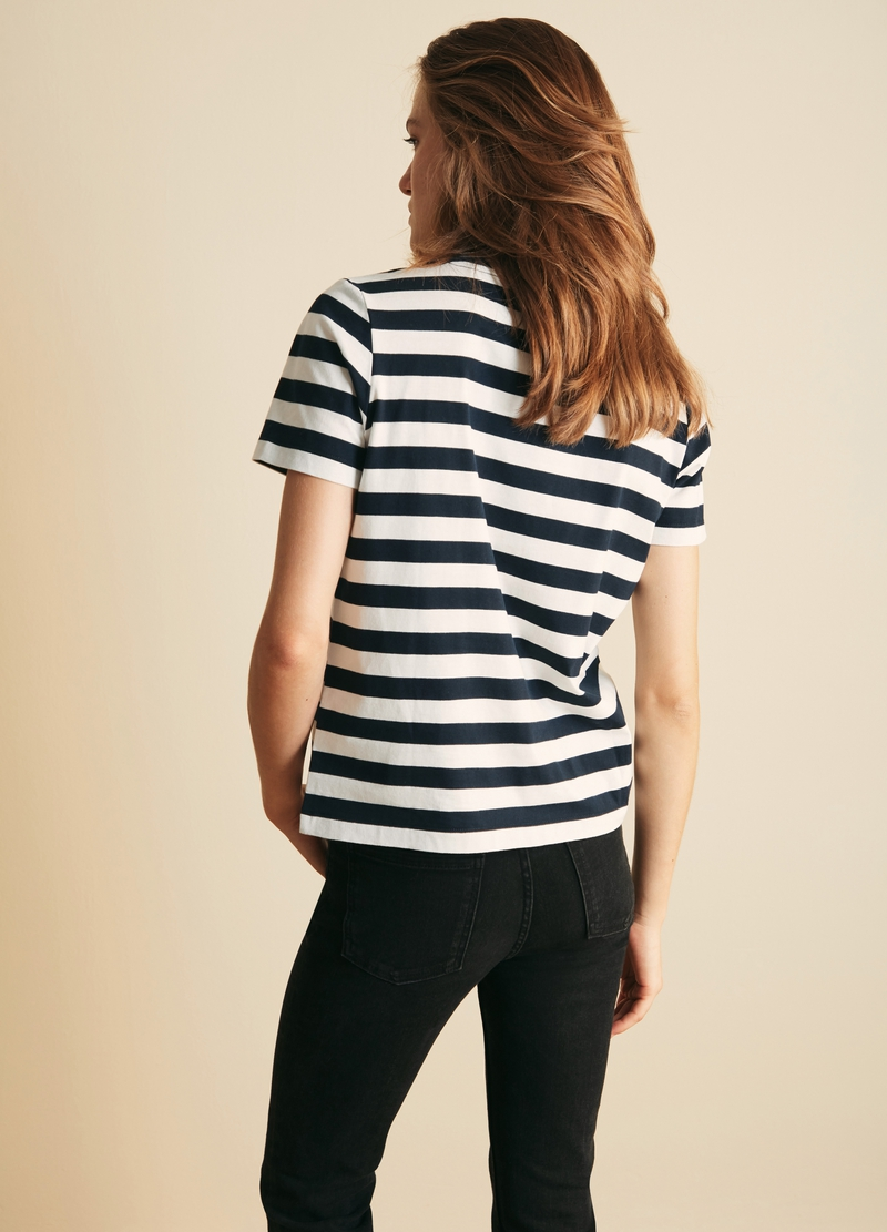 PIOMBO T-shirt a righe image number null