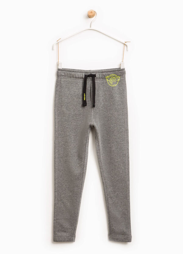Joggers with print and drawstring | OVS