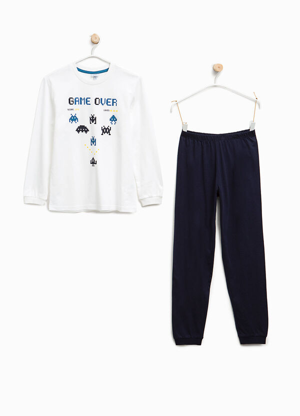Pyjamas with Space Invaders print | OVS