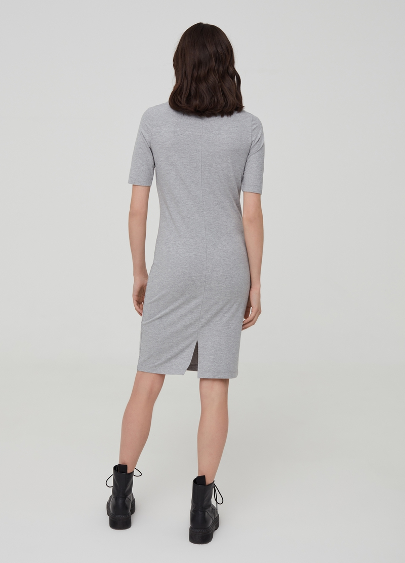 Stretch organic cotton dress image number null