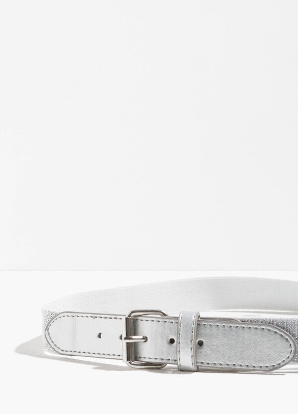 Stretch glitter belt with one loop | OVS