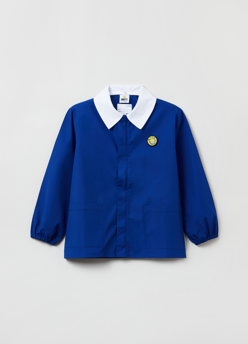 Smock with Smiley World patches image number null
