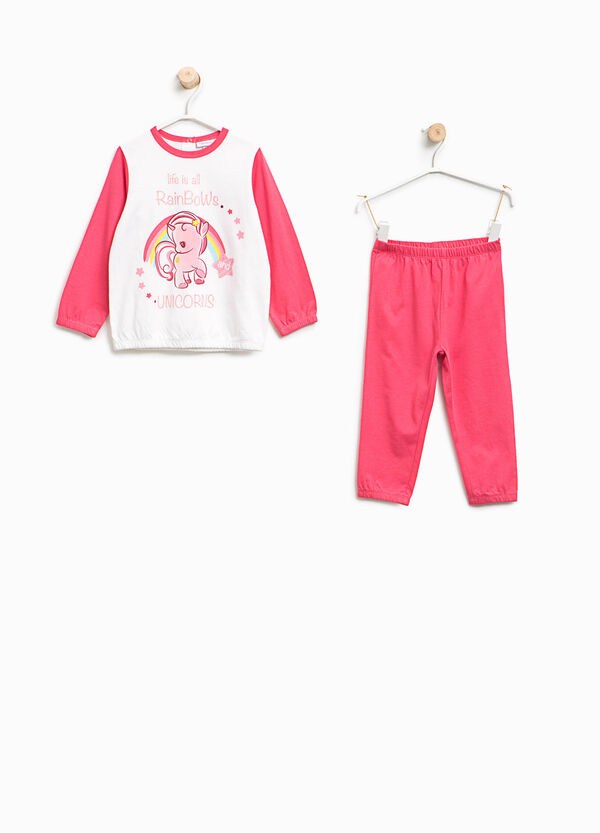 Organic cotton pyjamas with unicorn | OVS