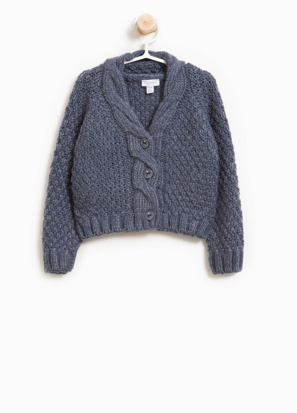 Wool blend pullover with buttons   OVS