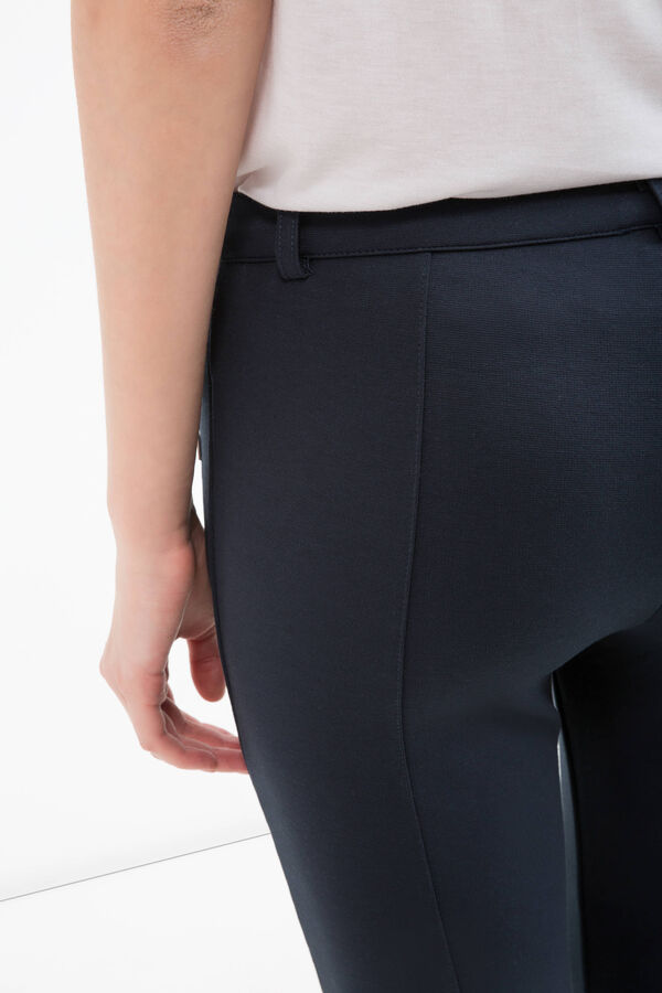 Plain stretch trousers | OVS