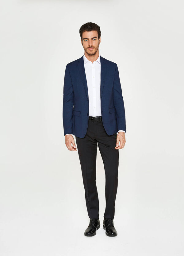 Giacca elegante slim fit in viscosa | OVS