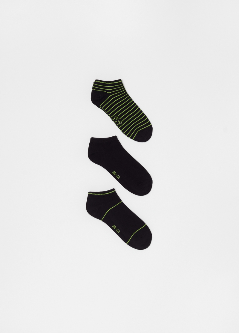 Three-pack short stretch socks image number null