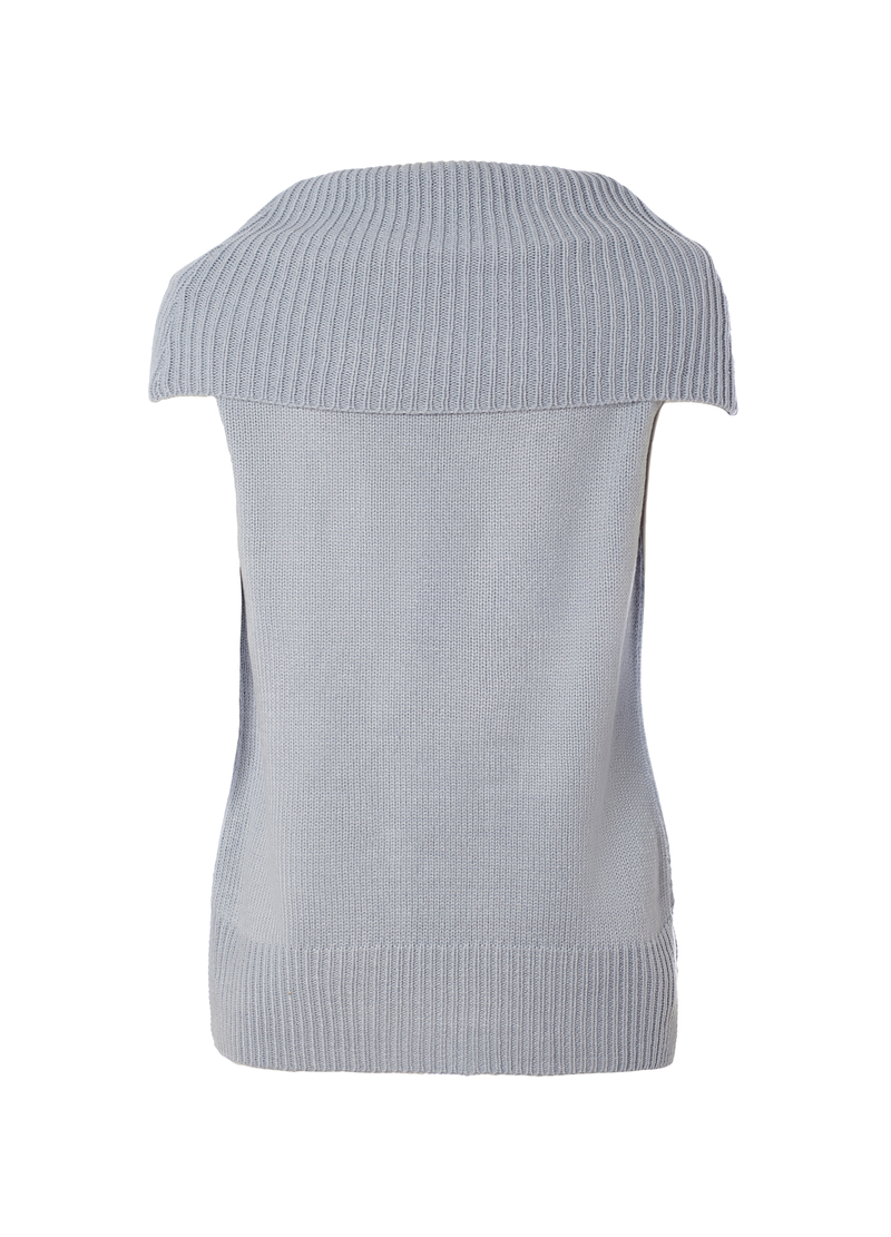 Smart Basic waistcoat with high neck image number null