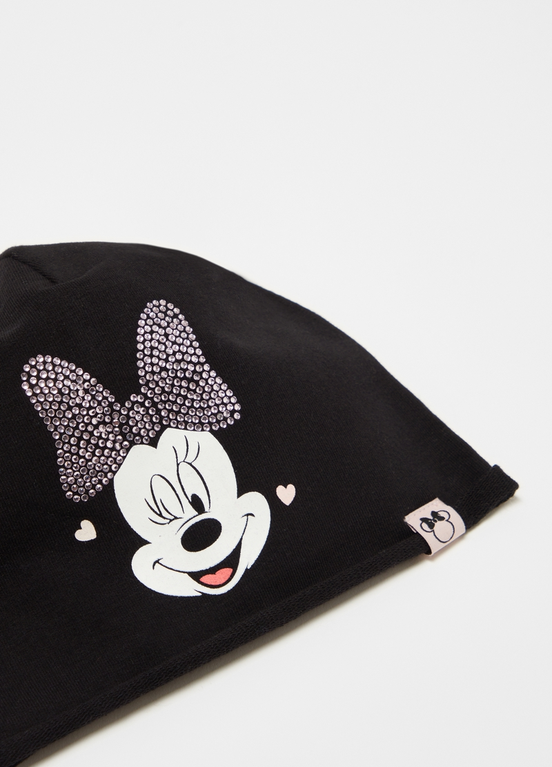 Berretto con strass Disney Baby Minnie image number null