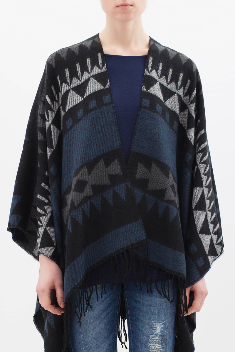 Ethnic pattern cape image number null