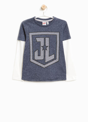 T-shirt con stampa Justice League