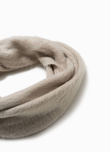 Solid colour neck warmer