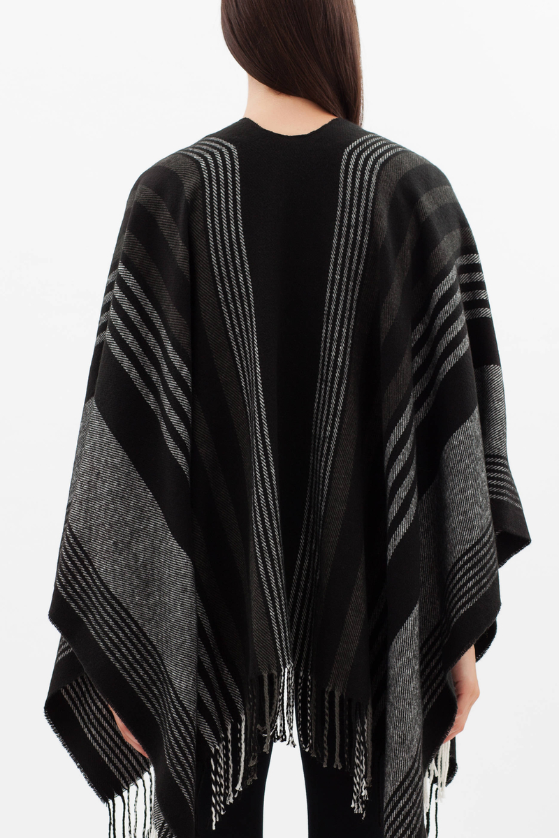 Striped cape image number null