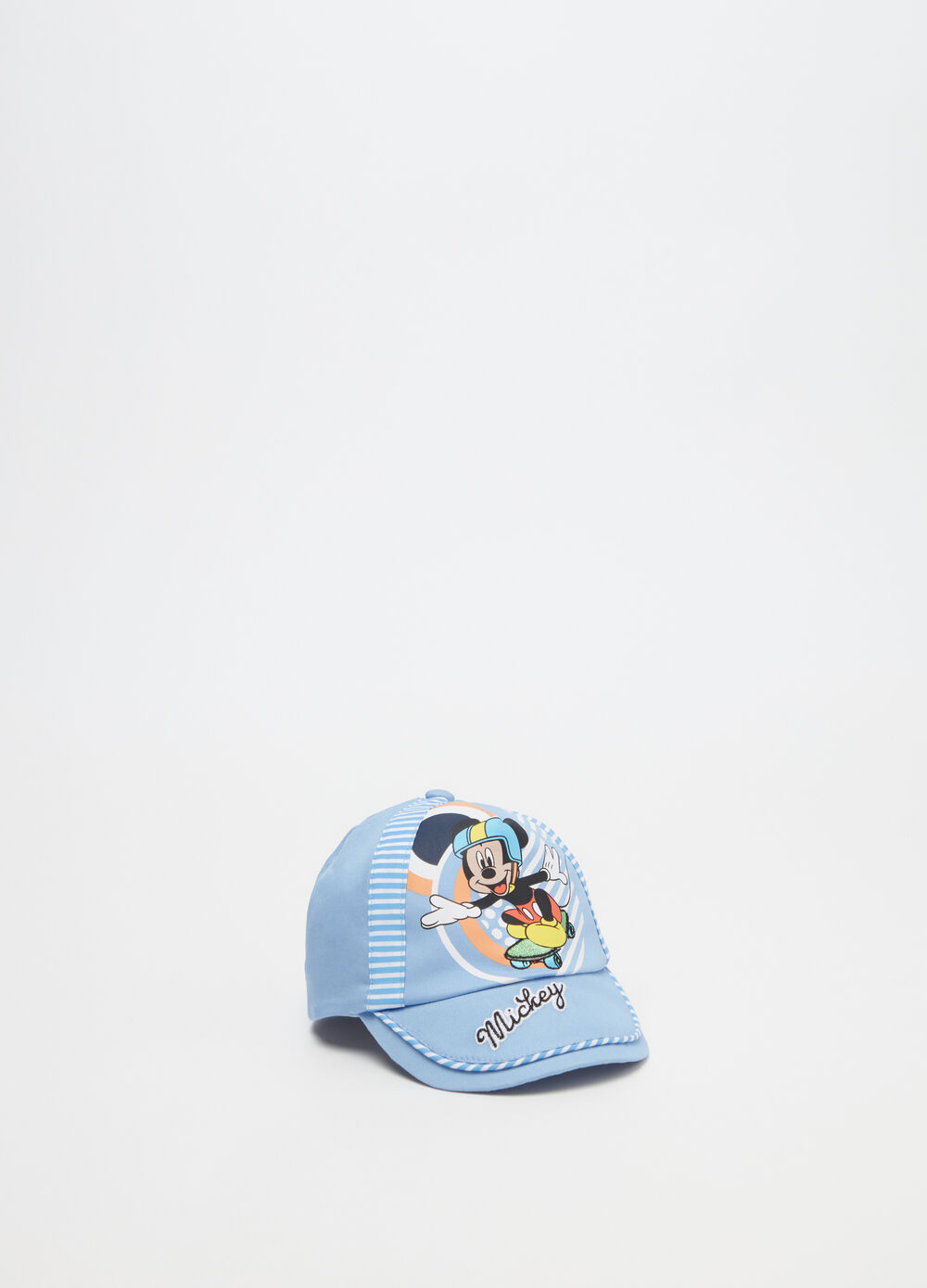 Faux layered Mickey Mouse baseball cap