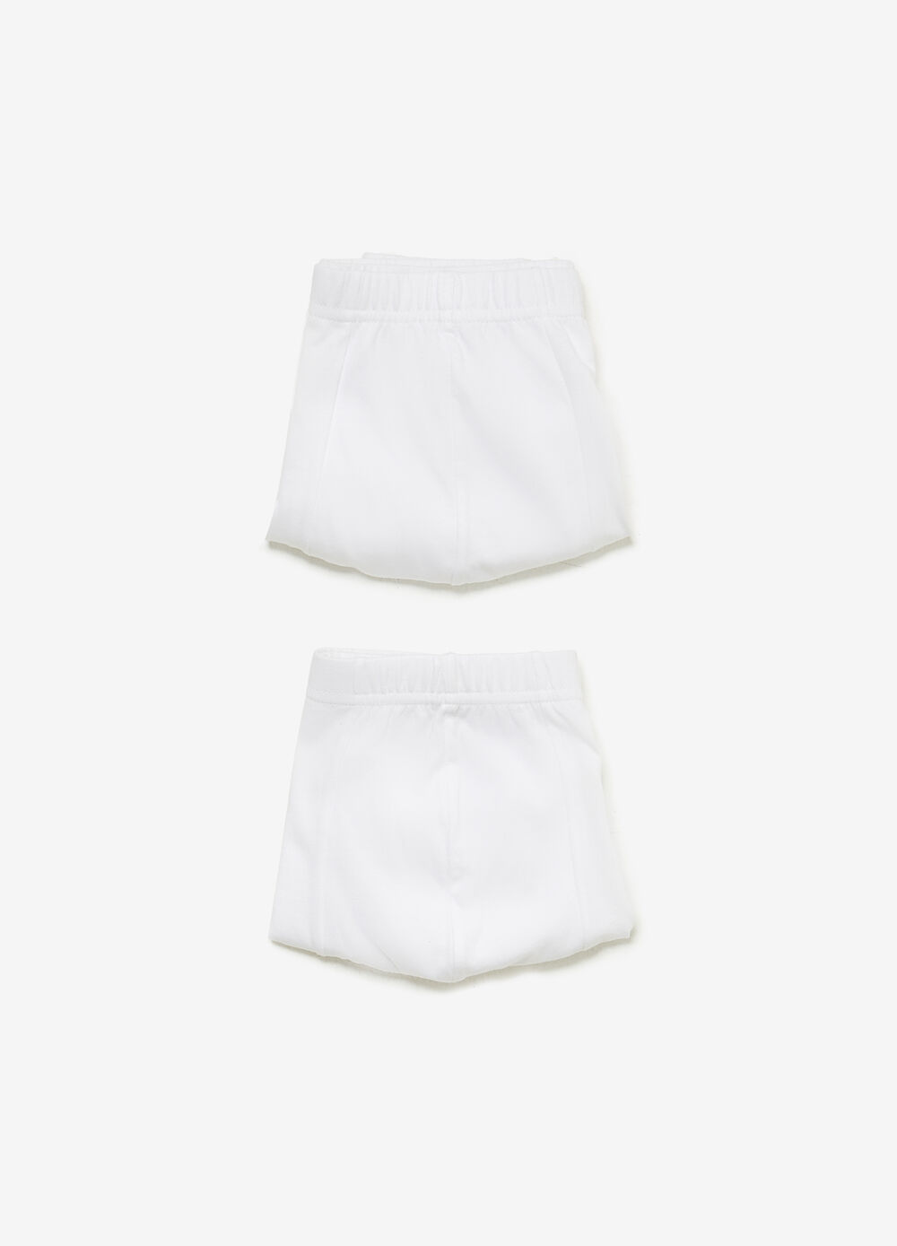 Two-pack solid colour organic cotton boxers