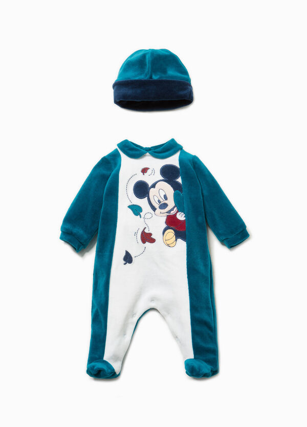 Completo cappello tutina Baby Mickey Mouse