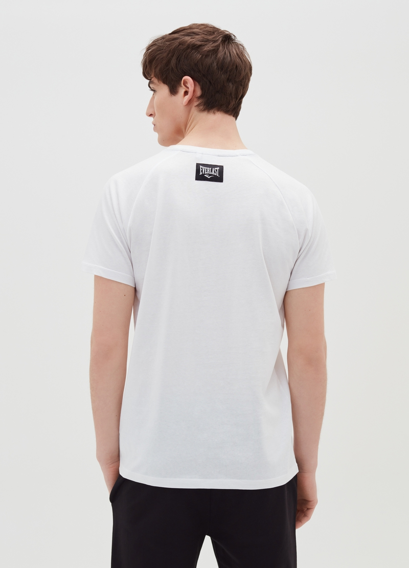 T-shirt with Everlast print and round neck image number null