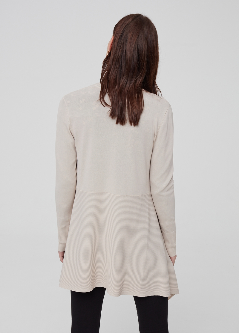 Long asymmetric cardigan image number null