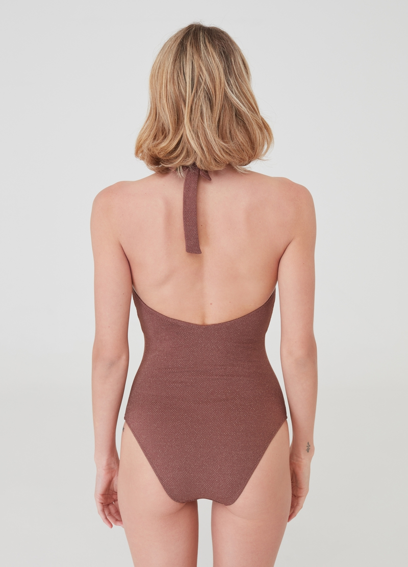 One-piece lurex swimsuit image number null