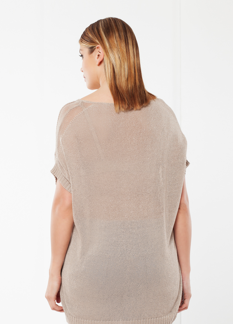 Sleeveless Curvy jumper image number null
