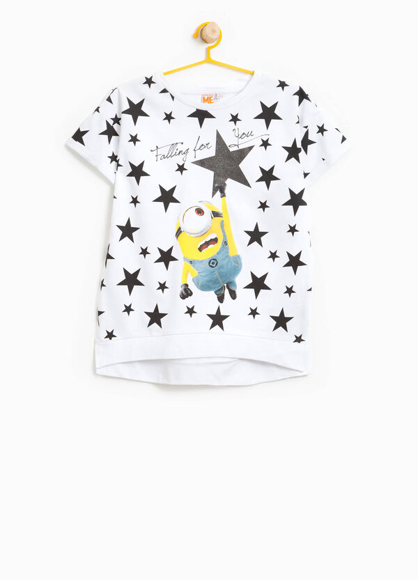 Minions sweatshirt with star pattern | OVS