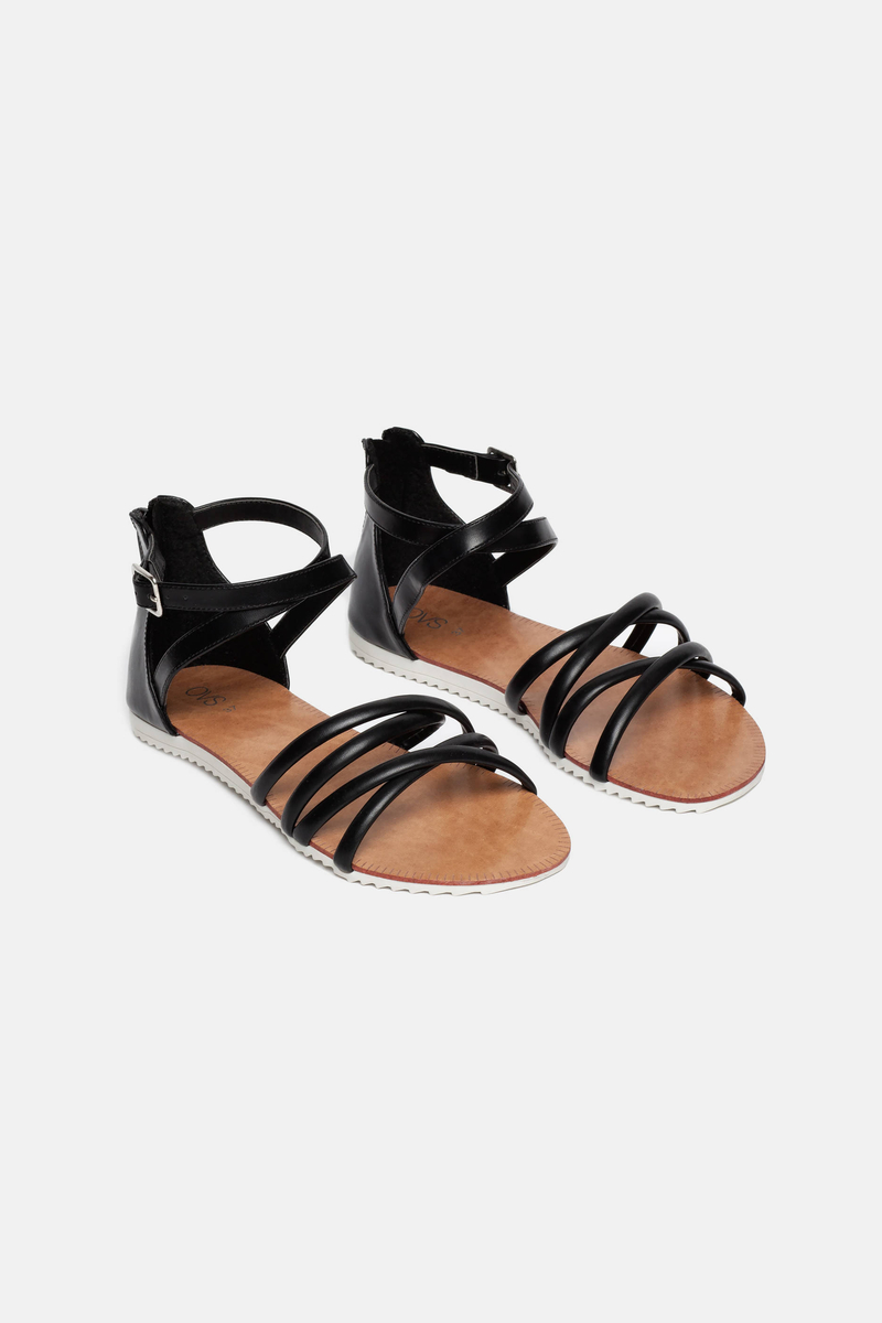 Criss-cross sandals image number null
