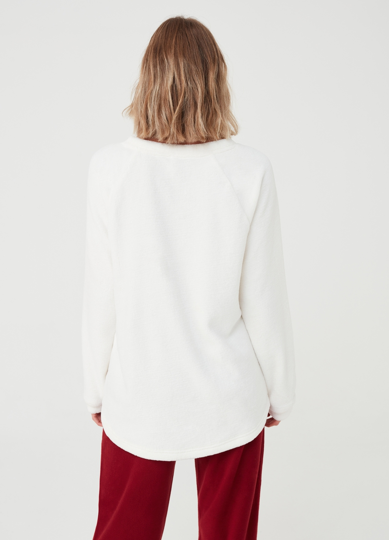 Pyjama top with applications image number null