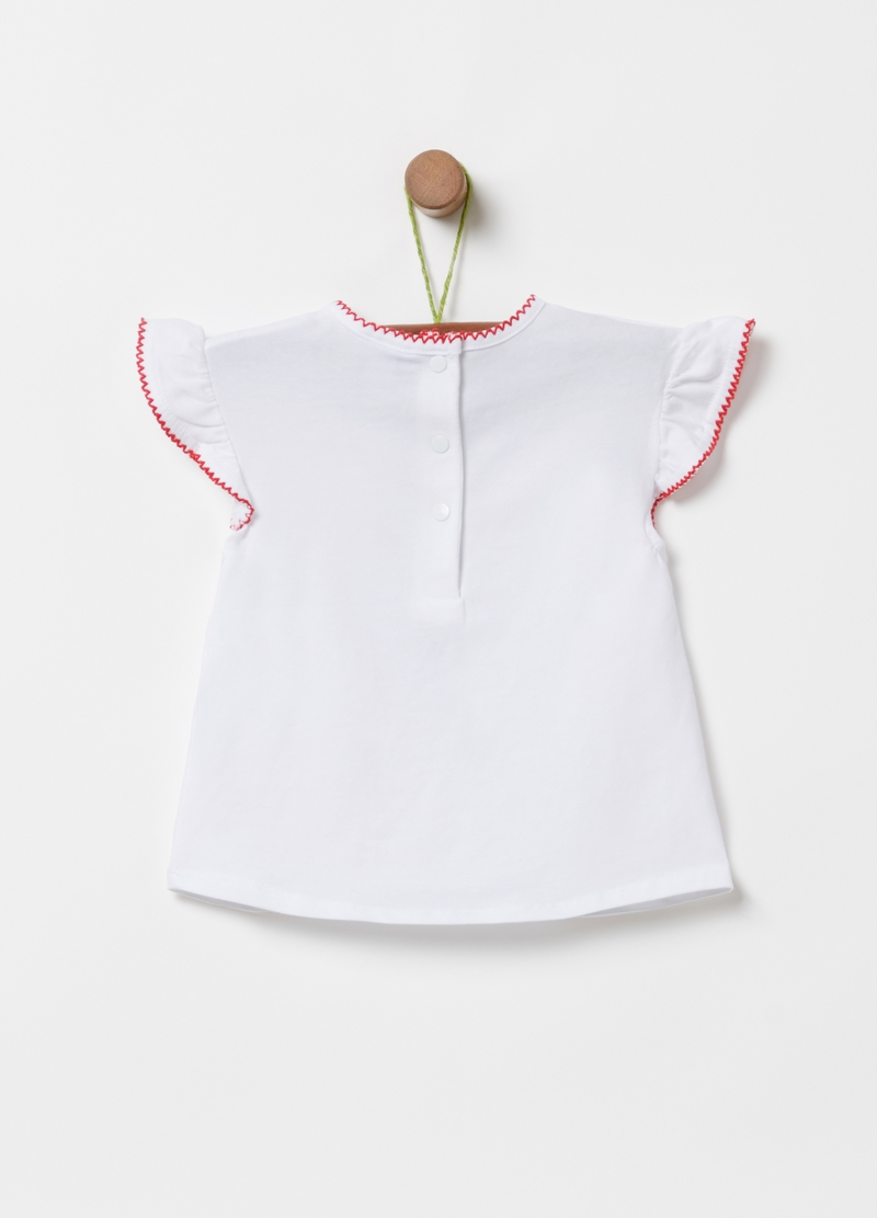 T-shirt cotone bio stampa glitter image number null