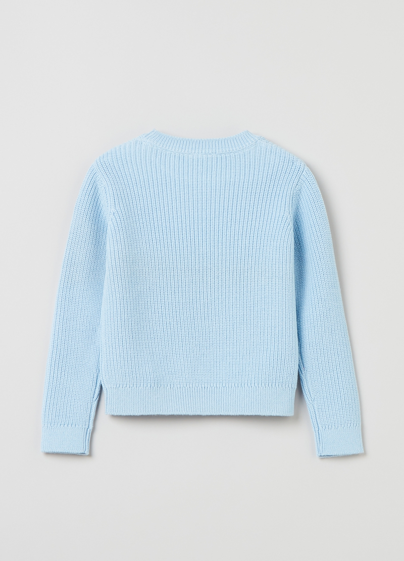 Pullover in cotone tricot image number null