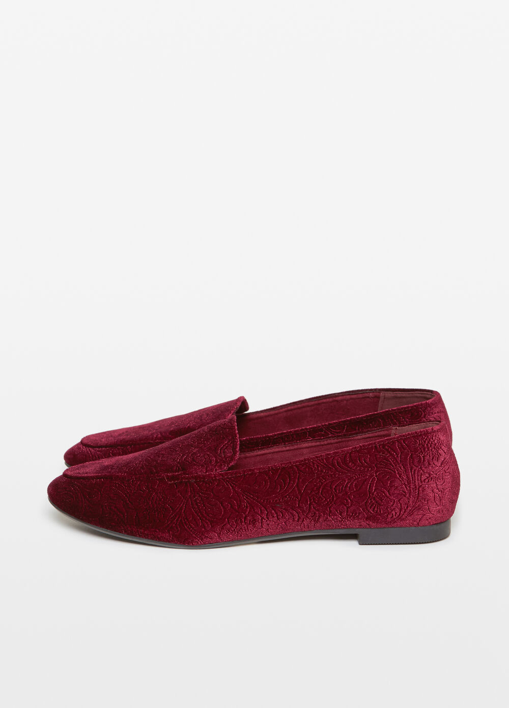 Slip on in velluto damascate