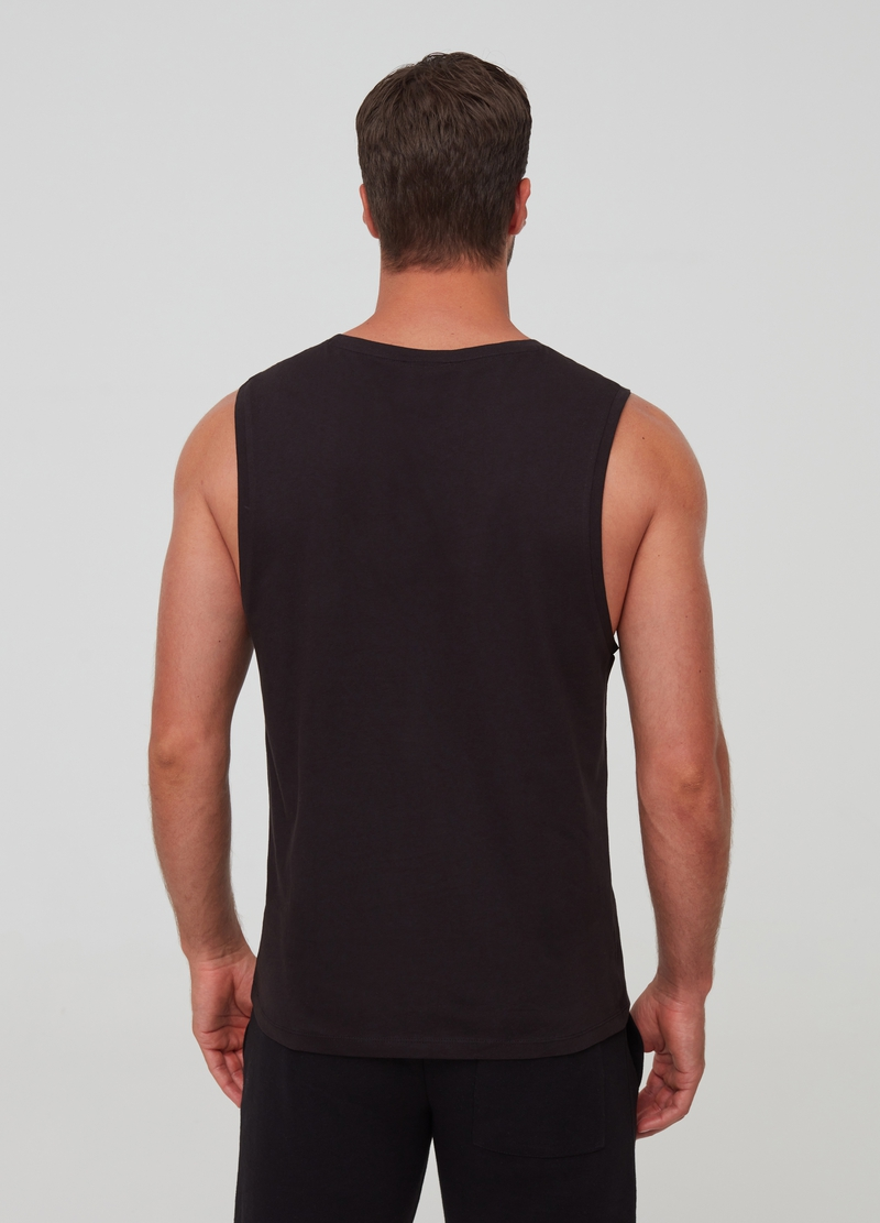 100% organic cotton tank top with print image number null