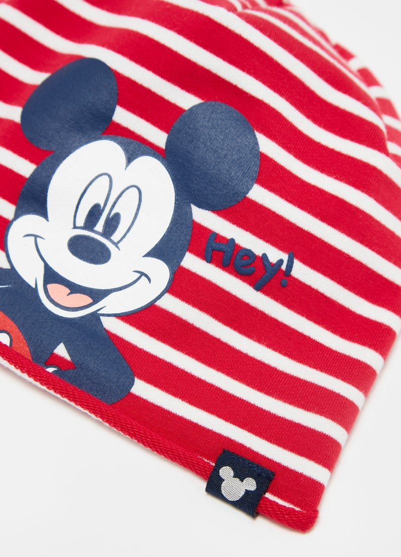 Disney Baby Mickey Mouse hat in French terry image number null