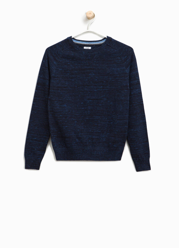 100% cotton pullover with embroidery | OVS